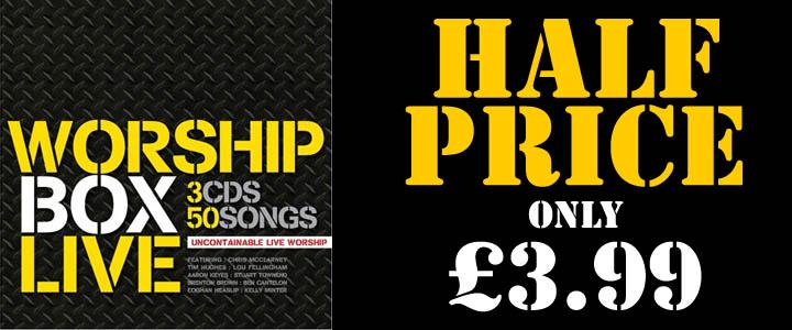 Worship Box Live: Now half price!