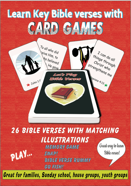 Lets Play Bible Verses Cards Toys Games Gifts Keith