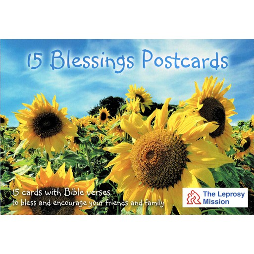 15 BLESSINGS POSTCARDS