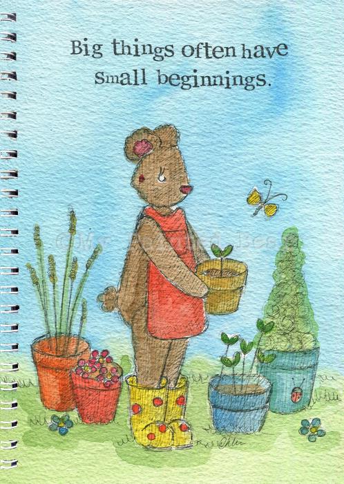 SMALL BEGINNINGS A5 NOTEBOOK