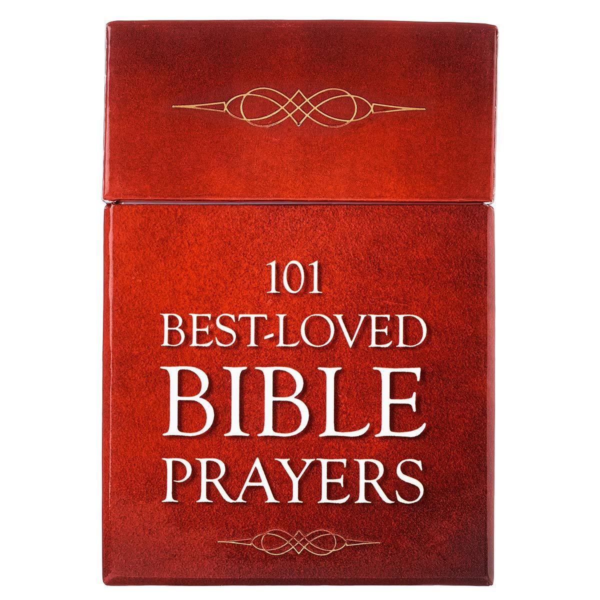 101 BEST LOVED BIBLE PRAYERS BOX OF BLESSINGS