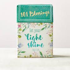 101 BLESSINGS LET YOUR LIGHT SHINE