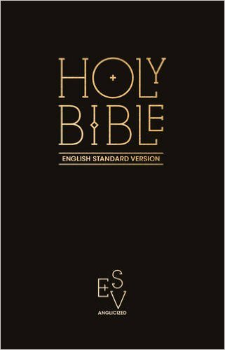 ESV ANGLICIZED PEW BIBLE HB