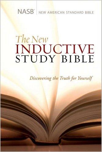 NASB NEW INDUCTIVE STUDY BIBLE