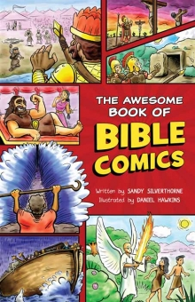 AWESOME BOOK OF BIBLE COMICS FOR KIDS