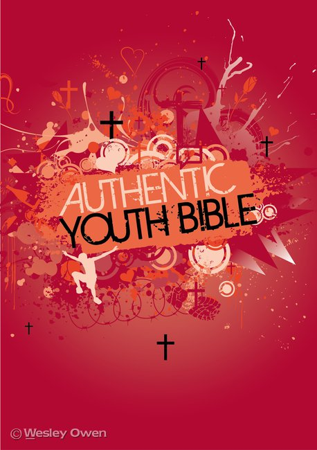 Authentic Youth Bible: Red