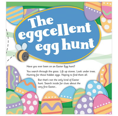 THE EGGCELLENT EGG HUNT TRACT PACK OF 25