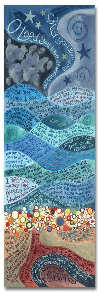 HANNAH DUNNETT BOOKMARK PSALM 139