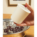 COMMUNION CUP FILLER BUTTON RELEASE