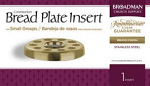 BREAD PLATE INSERT BRASS