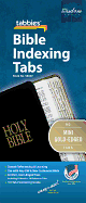 BIBLE TABS MINI GOLD EDGED