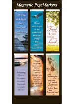 MAGNETIC BOOKMARKS SET OF 6
