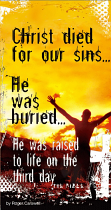 CHRIST DIED FOR OUR SINS TRACT PACK OF 25