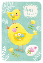 CHICK HAPPY EASTER PACK OF 5