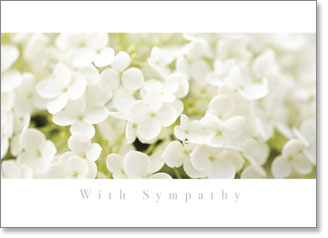 WITH SYMPATHY INSPIRE CARD