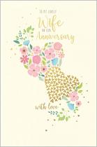 ANNIVERSARY WIFE CARD