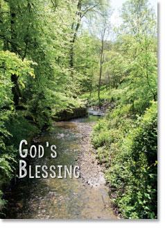 GOD'S BLESSING CARD