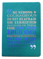 BE STRONG AND COURAGEOUS JOURNAL