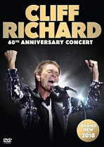 CLIFF RICHARD 60TH ANNIVERSARY CONCERT DVD