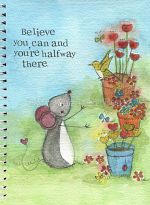 BELIEVE YOU CAN A5 NOTEBOOK