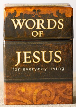 WORDS OF JESUS FOR EVERYDAY LIVING BOX OF BLESSINGS
