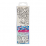 COLOURING BOOKMARKS BLUE PACK OF 5