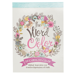 THE WORD IN COLOR COLOURING POSTCARDS