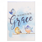 TUNE MY HEART TO SING THY GRACE NOTEPAD