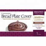 BREAD PLATE COVER BRONZE