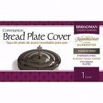 BREAD PLATE COVER TITANIUM