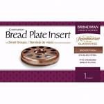 BREAD PLATE INSERT BRONZE