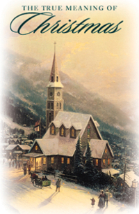 THE TRUE MEANING OF CHRISTMAS TRACT PACK OF 25
