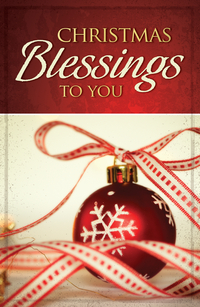 CHRISTMAS BLESSINGS TO YOU TRACT PACK OF 25