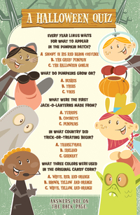 A HALLOWEEN QUIZ TRACT PACK OF 25