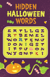HIDDEN HALLOWEEN WORDS TRACT PACK OF 25