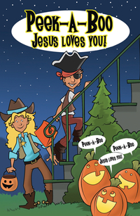 PEEK A BOO JESUS LOVES YOU TRACT PACK OF 25