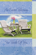 BOTH OF YOU EASTER GREETINGS CARD