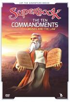 SUPERBOOK THE TEN COMMANDMENTS DVD