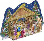 AT THE CHRISTMAS CRIB ADVENT CALENDAR
