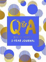 Q&A BIBLE VERSE: 5 YEAR JOURNAL