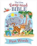 LION EASY READ BIBLE FIRST WORDS HB
