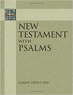 ESV GIANT PRINT NEW TESTAMENT