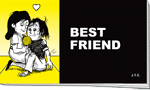 BEST FRIEND TRACT PACK OF 25