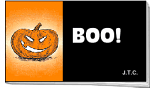 BOO PACK OF 25