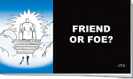 FRIEND OR FOE CHICK TRACT PACK OF 25