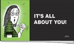 ITS ALL ABOUT YOU CHICK TRACT PACK OF 25