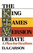 KING JAMES VERSION DEBATE