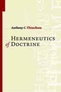 HERMENEUTICS OF DOCTRINE HB