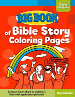 BIG BOOK OF BIBLE STORY COLORING PAGES