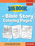 BIG BOOK OF BIBLE STORY COLOURING PAGES